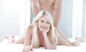 Blonde Zelda Morrison amazing shag with a fine man whos cock makes her moan