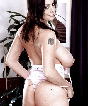 Euro pornstar Linsey Dawn McKenzie eventually gets naked for sex toy insertion