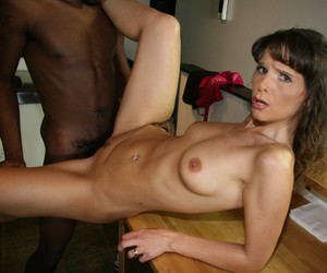 Lusty MILF Syren Demer participates in a gangbang with guys from the ghetto