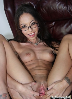 Nerdy chick  Veronica Jett is actually a big black cock lover extraordinaire