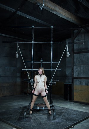 Curious female finds herself being tortured beyond belief in a dungeon