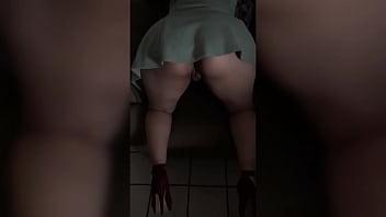 Latina Scissoring Arsch Groß Amateur Latina
