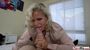 Blonde stepmother with huge tits gets fucked pov style pervme Fucking My Busty Stepmother Missionary Style Be Fuck Tube Befuck Net