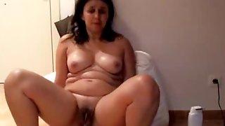 Anal Stretching Portuguese MILF