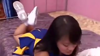 Fuck The Chinese Cheerleader