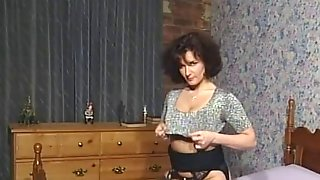 Sexy Dark Brown Breasty Mother Id Like To Fuck Teasing In Various Outfits V HOT!