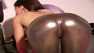 Jess Spandex And Boots