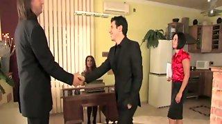 PinkoHD XXX Video: Spanked Secretary