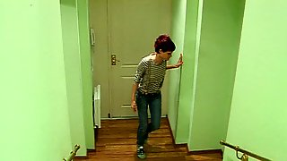 Guy In Uniform Sucked And Fucked In Lewd Voyeur Home Made Video