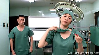 Vivacious Asian Nurse Giving Her Partner Superb Cat Bath Before Delivering Steamy Blowjob In Reality Shoot