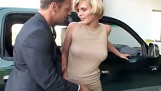Slutty Cum Addicted Light Haired Whores Suck Cocks In Helicopter Base
