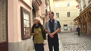 Amateur Granny And A Cute Teen Please An Older Guy