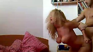 Fucking My Hot Blonde Wife In Doggy Style And Making Her Scream