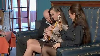 Fully Clothed Fucking Threesome