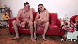 Chubby French Housewife Anal Pounded By Her Husband