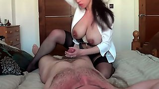 Big Boobed Mature Woman