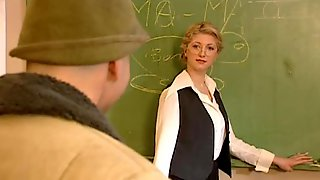 Blonde Teacher