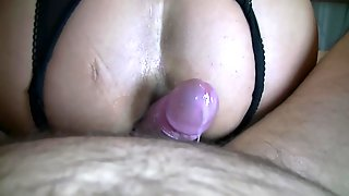 Anal Cumshot Close Up