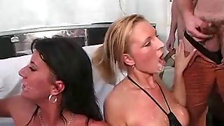Naked women getting their pussys licked