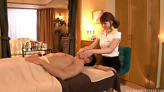Japanese Hotel Masseuse Likes To Make Her Clients Cum Hard