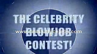 Celebrity Blowjob Contest