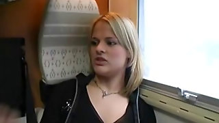 Swedish Girl Fucked On Train