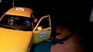 Janine lindemulder in a cab ride fantasy