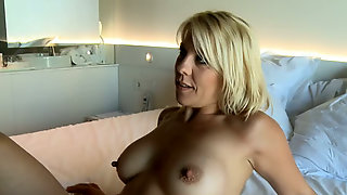 Sweet Blonde Housewife Is Eagerto Be Picked Up For Fun