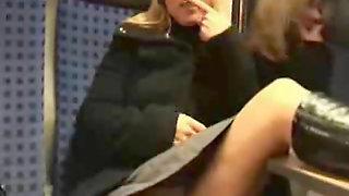 Blonde In The Train