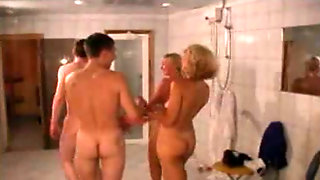 Sauna - Group Sex