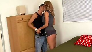 Hot Cougar And Guy