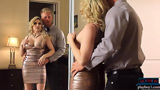Fucks An Other Guy To Help Her Husbands Career