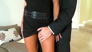 Clothed Dude Finger Fucks And Toys Sexy Chick Jewel