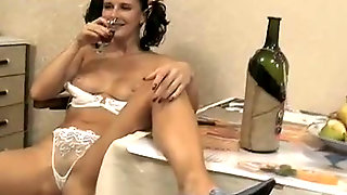 Cute Brunette Young Bitch Karina Takes Off Her Clothes