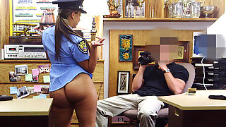 She Is A Police Officer