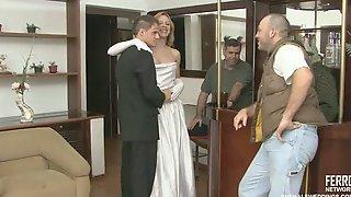 Alessandra&edu Shemale Wedding Sex