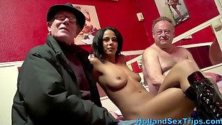 Old Fat Tourist Fucks Prostitute