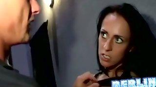 Brunette Flashed & Groped In Public