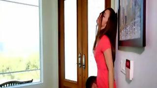Lovely Girl Seduced Her Boyfriends Older Boy