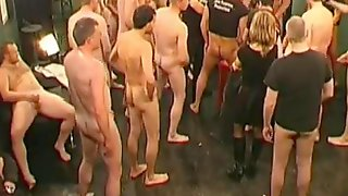 Lovely Cum Whores Make Porn With A Huge Collection Of Guys