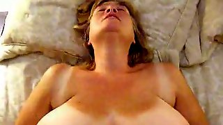 I Like Watching My Wifes Boobs Bounce While She Is Being Fucked Silly