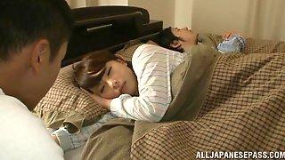 Оттрахали спящую жену #13