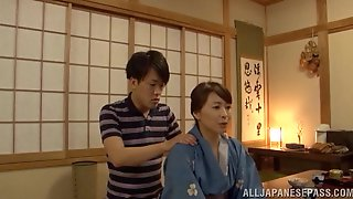 Japanese Mom Yuuki Itano Gets Her Pussy Fingered And Banged Hard