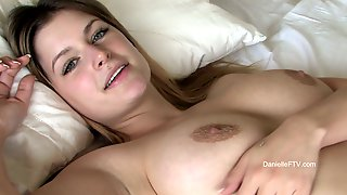 Close Up Pussy Demonstrations By A Sizzling Babe Danielle