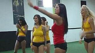 Volleyball Female Team Shows Really Hot Group Sex With Their Coach