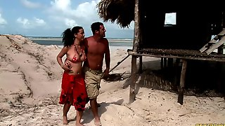 Beach Beauties Have Hot Group Sex And Everyone Gets Off