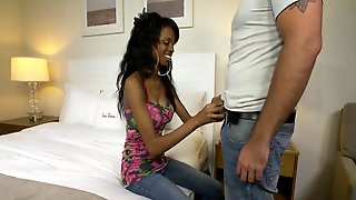 Black College Girl  Fucked In The Bed