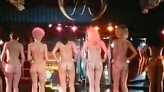 Booty Contest Of Six Curvaceous Bitches At The Night Club