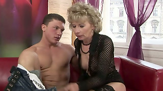 Dirty Old Slut Magarette Screams Wild Fucking Hard In A Missionary Position