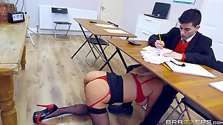 Busty School Teacher Fucks Talented Student Jordi El Niño Polla